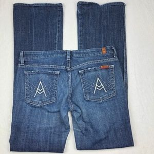 """[7 For All Mankind] """"A"""" Pocket Flare Jeans"""